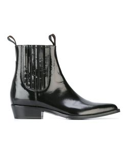 Sonora | Varnished Chelsea Boots 40 Leather