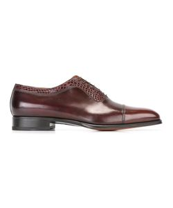 Santoni | Goodyear Sole Oxford Shoes 45 Leather