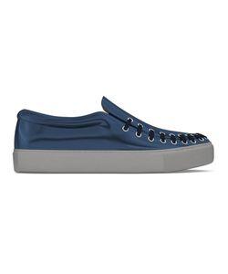 MYSWEAR   Conduit Slip-On Sneakers 44 Calf Leather/Leather/Rubber