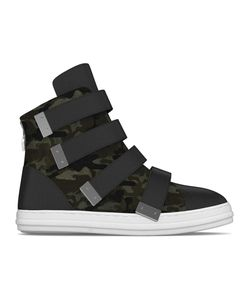 MYSWEAR | Bond Hi-Top Sneakers 45 Calf Leather/Nappa Leather/Calf Hair/Rubber