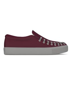 MYSWEAR   Conduit Slip-On Sneakers 40 Calf Leather/Nappa Leather/Rubber
