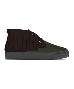 MYSWEAR   Maltby Mid-Top Sneakers 42 Calf Leather/Nappa Leather/Suede/Rubber