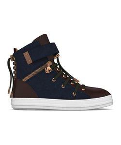 MYSWEAR   Regent Hi-Top Sneakers 40 Calf Leather/Nappa Leather/Suede/Rubber
