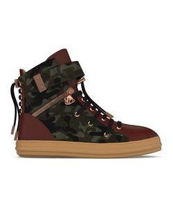 MYSWEAR   Regent Hi-Top Sneakers 42 Calf Leather/Nappa Leather/Calf