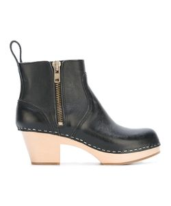 Swedish Hasbeens | Emy Boots 38 Leather/Rubber