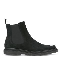 Neil Barrett | Cut-Out Vamp Chelsea Boots 42 Leather/Suede/Rubber