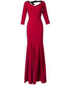 Roland Mouret | Templeton Gown 10 Spandex/Elastane/Acetate/Viscose