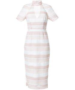 Rebecca Vallance | Testa High Neck Midi Dress 12