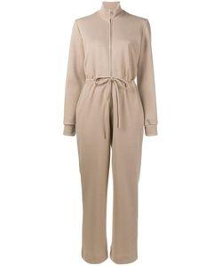 Maryam Nassir Zadeh | Drawstring Waist Jumpsuit Large Polyester/Wool