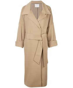MAME | Belted Coat 2 Cupro/Cashmere/Wool