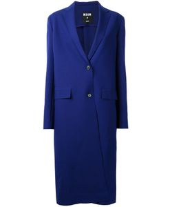 MSGM | Single Breasted Coat 48 Polyester/Spandex/Elastane/Viscose