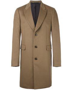 Paul Smith   Peaked Lapel Epsom Coat 44 Cupro/Cashmere/Wool
