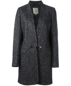 Fay | Barrel Button Coat Xs Cotton/Polyester/Wool