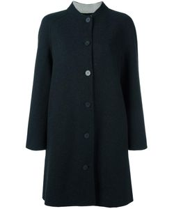 Emporio Armani | Single Breasted Coat 44 Polyamide/Wool