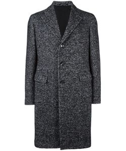 Tagliatore | Classic Buttoned Coat 54 Cotton/Acrylic/Polyamide/Alpaca