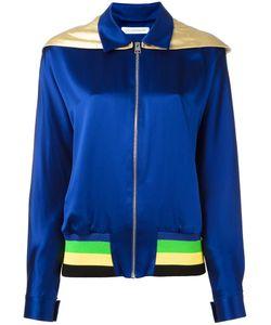J.W. Anderson | J.W.Anderson Hood Jacket 6 Silk/Acrylic/Wool