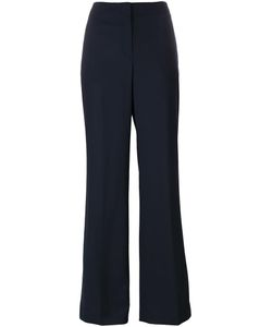 Theory | High Waist Flared Trousers 6 Polyester/Virgin Wool