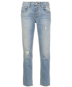 Adaptation | Distressed Slim Jeans 27 Cotton