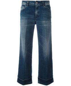 THE SEAFARER | Cropped Flared Jeans 28 Cotton/Polyurethane