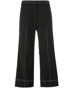 Each X Other | Wide-Legged Cropped Trousers Xs Wool