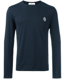 Stone Island | Round Neck Sweatshirt Medium Cotton