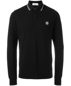 Stone Island | Longsleeved Polo Shirt Medium Cotton/Spandex/Elastane