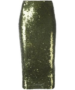 P.A.R.O.S.H. | Gausha Skirt Medium Polyamide/Spandex/Elastane/Pvc/Sequin