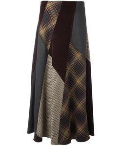 P.A.R.O.S.H. | Patch Long Skirt Spandex/Elastane/Virgin Wool