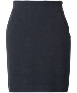 LOVELESS | Mid-Rise Straight Skirt 36 Polyester