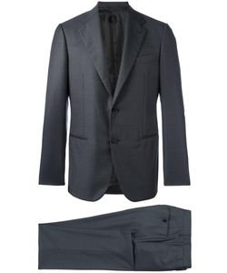 Caruso | Fitted Dinner Suit 48 Viscose/Wool