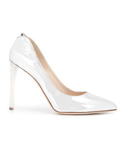 CHLOE GOSSELIN | Heather Pointed Toe Pumps 39 Leather