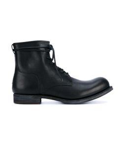 KAZUYUKI KUMAGAI | Lace-Up Ankle Boots 43.5 Calf Leather/Leather