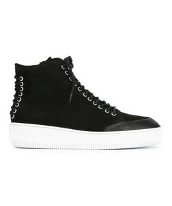 Mcq Alexander Mcqueen | Netil Hi-Top Sneakers 40 Leather/Suede/Rubber