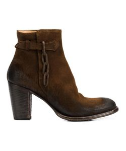 Silvano Sassetti | Zipped Ankle Boots 37.5 Leather