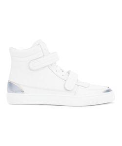 Louis Leeman | Double Strap Hi-Top Sneakers 41 Calf