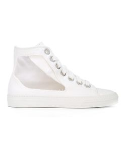Ports | 1961 Hi-Top Cut Out Sneakers 38 Cotton/Rubber