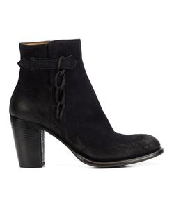 Silvano Sassetti | Zipped Ankle Boots 37 Leather