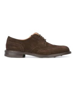 Church'S   Newark Derby Shoes 9.5 Leather/Suede/Rubber