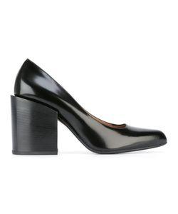 Marni | Block Heel Pumps 38.5 Leather