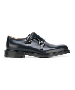 Church'S   Lambourn Monk Shoes 9 Calf Leather/Leather