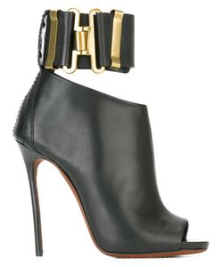 Dsquared2 | Military Heeled Sandals 38 Leather