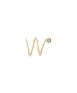 IVY & LIV | Wave Diamond Earring