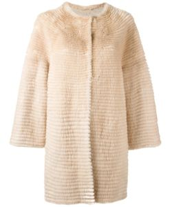 Liska | Midi Coat 4 Mink Fur/Cashmere