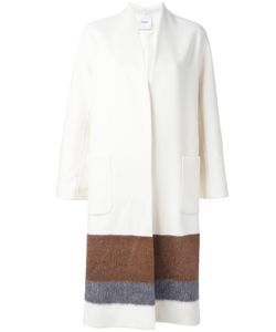 Agnona | Colour Block Coat Small Cupro/Wool