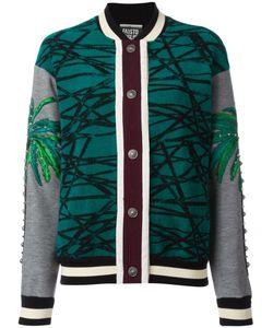 Fausto Puglisi | Print Bomber Jacket 40 Silk/Polyamide/Spandex/Elastane/Viscose