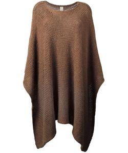 Daniela Pancheri | Classic Knit Poncho Polyamide/Wool/Alpaca