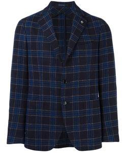 Tagliatore | Checked Blazer 54 Polyamide/Cupro/Virgin Wool