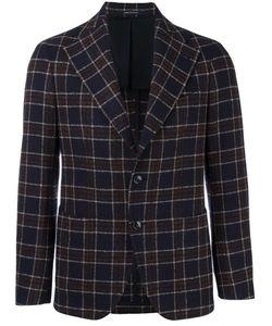 Tagliatore | Checked Blazer 50 Polyamide/Cupro/Virgin Wool