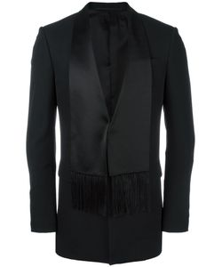 Givenchy | Scarf Lapel Blazer 48 Silk/Cotton/Polyamide/Wool