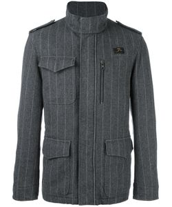 Fay | Pinstriped Sport Jacket Xxl Polyester/Wool